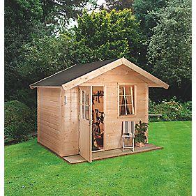 Finnlife Jarvi 212 Log Cabin 3 x 2.4 x 2.6m