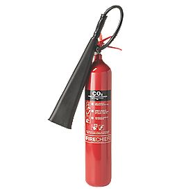 Firechief Fire Extinguisher Carbon Dioxide 5kg