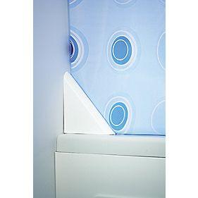 Croydex Shower Curtain Clip White x mm