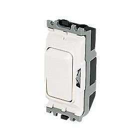 MK 20A Intermediate Grid Switch White
