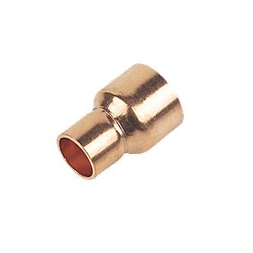 End Feed Reducing Couplers 15 x 10mm Pack of 2