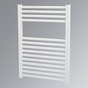 Kudox Flat Towel Radiator White 500 x 700mm 322W 1099Btu