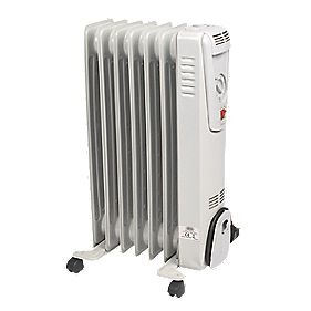 NDB-1C-15S 7 Fin Oil-Filled Radiator 1500W