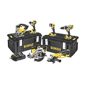DeWalt DCK692M3 18V 4Ah Li-Ion Cordless 6-Piece Kit
