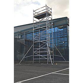 Lyte SF25DW72 Helix Double Width Industrial Tower 7.2m