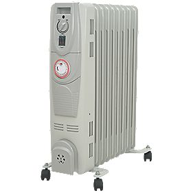 HD901-9TQ Oil-Filled Portable Convector Radiator with Timer 2W