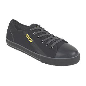 Stanley Newport Vulcanised Skate Safety Shoes Black Size 8