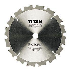 Titan TCT Circular Saw Blades 16T 180x16mm