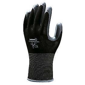 Showa Best 370 Secure Handling Assembly Grip Gloves Black Large