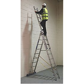 Skymaster Combination Ladder 3 x 9 Rung