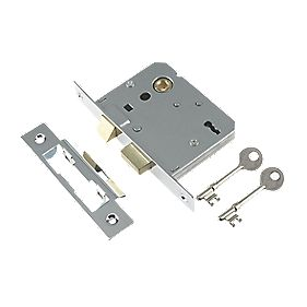"Century 3-Lever Mortice Sashlock Chrome Plated 3"" / 76mm"