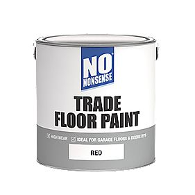 No Nonsense Trade Floor Paint Red 2.5Ltr
