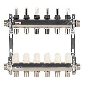JG Speedfit 6 Port Manifold Set