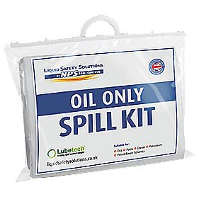 Lubetech Black & White Oil Spill Response Kit 20Ltr