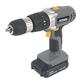 Titan TTI526COM 18V 1.3Ah Li-Ion Cordless Combi Drill