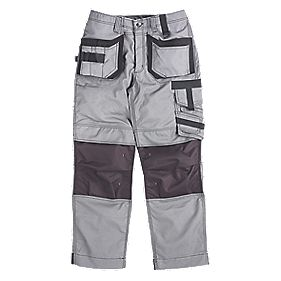 SCRUFFS PRO ACTION TROUSERS GREY W32 L33