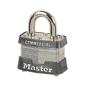 Master Lock Laminated Padlock Keyed Alike 38mm