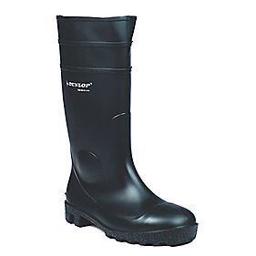 Dunlop Protomastor 142PP Wellington Boots Black Size 9