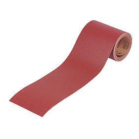 Titan Aluminium Oxide Paper Roll E Weight 115 x 5m 80 Grit
