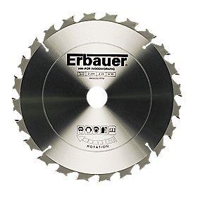 Erbauer TCT Circular Saw Blade 24T 255x30mm
