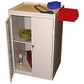 Tool Storage Cabinet 600 x 500 x 930mm Grey