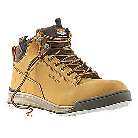 Scruffs Switchback Safety Boots Tan Size 12