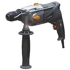 Titan TTB276DRL 850W Percussion Drill 230-240V