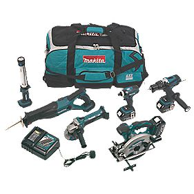 Makita DLX6000 18V 3Ah Li-Ion Cordless 6-Piece Kit LXT