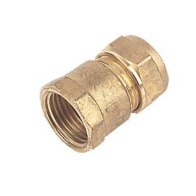 Female Coupler 15mm x ½""