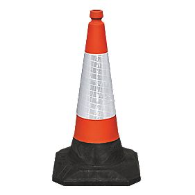 JSP Roadhog 1-Piece Cones 750mm Pack of 2