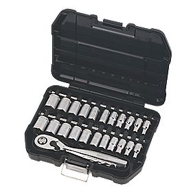 "DeWalt ¼"" Socket Set 23 Pieces"