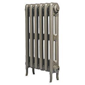 Cast Iron 660 Designer Radiator 2-Column Bronze H: 660 x W: 521mm