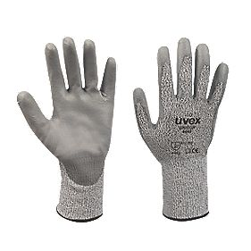 Uvex Unipur Cut 3 PU Palm Gloves Grey Large
