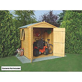Shire Shiplap Apex Shed 6' x 6' x 7' (Nominal)