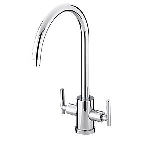 Bristan Artisan Sink-Mounted Mono Mixer Kitchen Tap Chrome