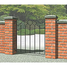 Metpost Ironbridge Gate Zinc-Plated 810 x 850mm