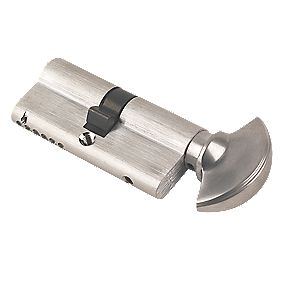 ERA 6-Pin Euro Cylinder Thumbturn Lock 35-35 (70mm) Satin Nickel
