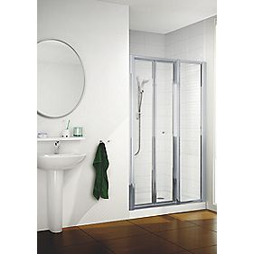 Mira Flight ACE Bi-Fold Shower Enclosure Door Silver 900 x 1830mm