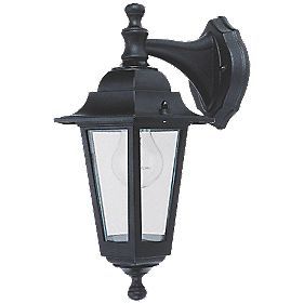 Coach Hanging Lantern Wall Light Black 60 W
