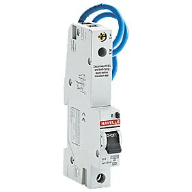Havells 6A Single-Pole Type C Trip RCBO