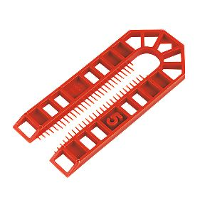 Broadfix Plastic Shims Large 101 x 5 x 43mm Pack of 200