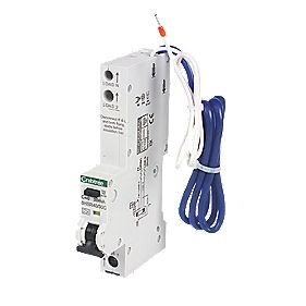 Crabtree 40A 30mA 1-Pole + Neutral Type A C Curve RCBO