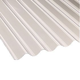 Corolux Corrugated PVC Sheet Clear 762 x 2440 x 1.1mm