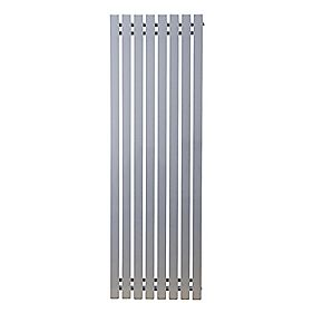 Ximax Erupto Square Vertical Designer Radiator Silver 1800 x 585mm 6198BTU