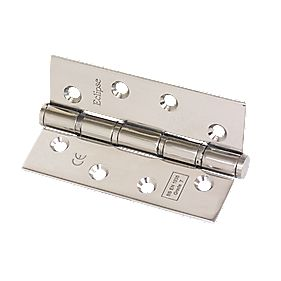 Grade 7 Washered Fire Hinges Pol. Stainless Steel 102 x 67mm Pk2