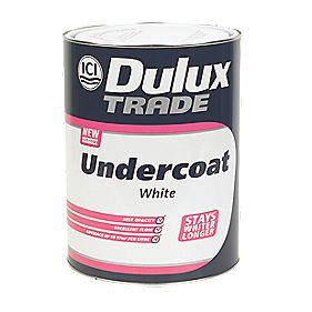 Dulux Trade Undercoat White 5Ltr