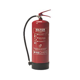 Firechief Fire Extinguisher Pressure Water 9Ltr