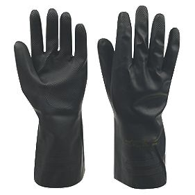 Ansell Neotop 29-500 General Handling Gauntlets Black Large