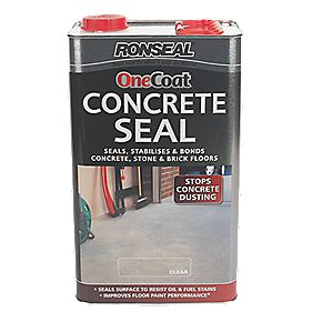 B and Q Concrete Seal Clear 5Ltr