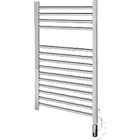 Kudox Flat Electric Towel Radiator Chrome 400 x 700mm 150W 511Btu